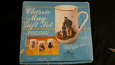 $ CDN31.79 • Buy Classic Mug Set Inspired By The Art Of Norman Rockwell