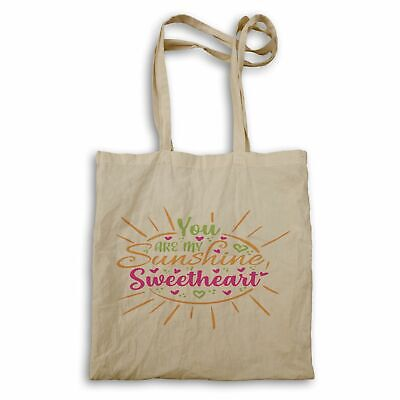 You Are My Sunshine Sweetheart Tote Bag Hh181r • 12.99£