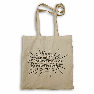 You Are My Sunshine Sweetheart Tote Bag Hh182r • 12.99£