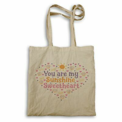 You Are My Sunshine Sweetheart Tote Bag Hh180r • 12.99£