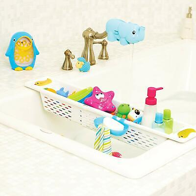 Munchkin Kids Bath Toy Caddy Plastic Organiser Storage Toys Holder Adjustable • 17.33£