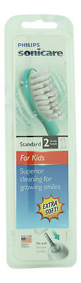 AU29.70 • Buy Philips Sonicare For Kids Replacement Toothbrush Heads 2 Ct. Electric Toothbrush