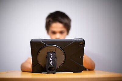 AU54.95 • Buy IPad Rugged Case With Rotating Stand For All Apple Models, Australian Brand.