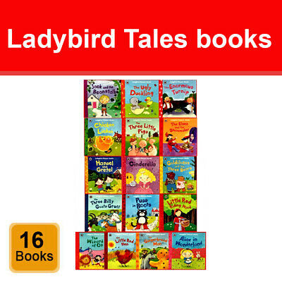Ladybird First Favourite Tales 16 Picture Books Collection Set Children's Pack  • 29.98£