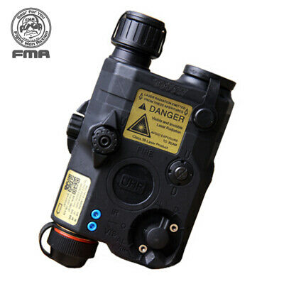 FMA PEQ LA5-C Upgrade Version Battery Box White LED+Red Laser W/ IR Lenses Army • 51.90£