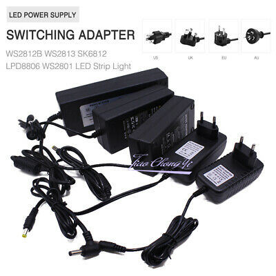 $ CDN9.82 • Buy 5V LED Power Supply 1A/2A/6A/10A Switching Adapter For WS2812B SK6812 LED Strip