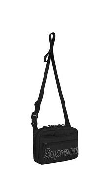$ CDN210.57 • Buy New Supreme Shoulder Bag Black Fall/Winter FW18 Brand New 100% Authentic