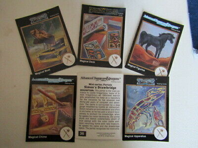 AU3.59 • Buy TSR 1992 ~ A.D&D Dungeons And Dragons 2nd Edition Cards Card Variants (e16)