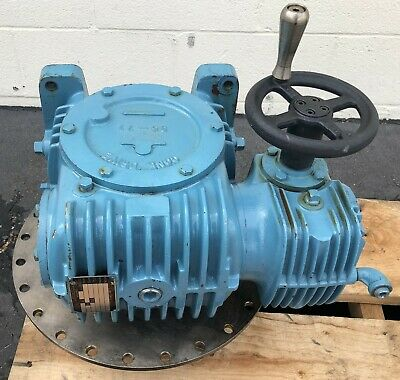 $591.56 • Buy Cone Drive Uo35b546-a1 Ratio 250:1 Worm Drive Right Angle Gearbox
