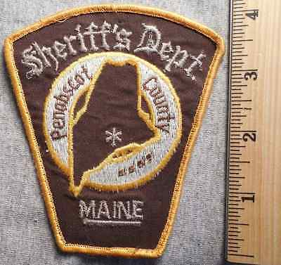 $15.99 • Buy Penobscot County Maine Sheriff Patch (highway Patrol, Sheriff, State)