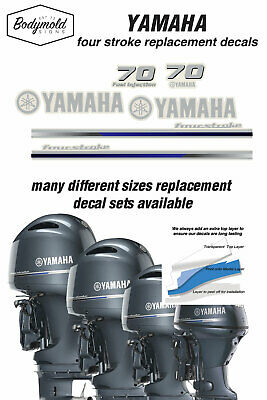 AU79 • Buy YAMAHA  70HP Four Stroke 2013 Outboard Replacement Decals
