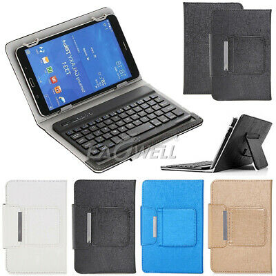 AU34.99 • Buy For 7 - 8  Inch Tablets Flip PU Leather Case Bluetooth Keyboard Stand Cover Hot