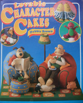 Lovable Character Cakes, Brown, Debbie, New Book • 16£