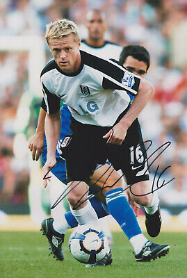 Damien Duff Signed 12x8  Fulham Photo / COA • 14.99£