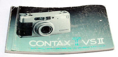 $ CDN12.66 • Buy CONTAX Tvs II TvsII Instructions Manual Book User Guide