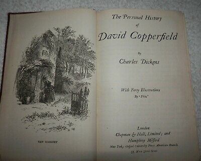 £50.50 • Buy The Personal History Of David Copperfield - CHARLES DICKENS