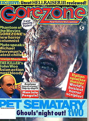 $15.16 • Buy GoreZone #23 FALL  1992 Posters Still Attached