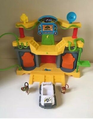 $64.98 • Buy Paw Patrol Jungle Rescue Monkey Temple With Tracker COMPLETE SET / EUC