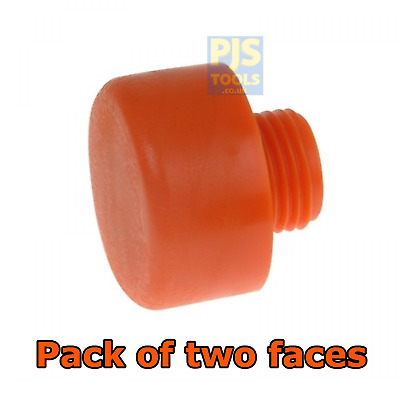 £7 • Buy 2 X Thor 414PF 44mm Spare Replacement Plastic Faces For THO414 Hammer (Pair)