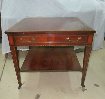 $125 • Buy Vintage Mahogany End Table / Side Table With Drawer