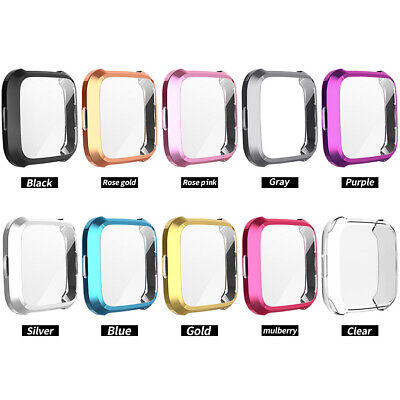 $ CDN8.03 • Buy For Fitbit Versa Lite Watch Case TPU Full Screen Protector Protect Bumper Cover