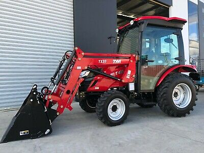AU41877 • Buy TYM T413 Tractor With Front End Loader, HST - Hydrostatic Trans - Yanmar Engine