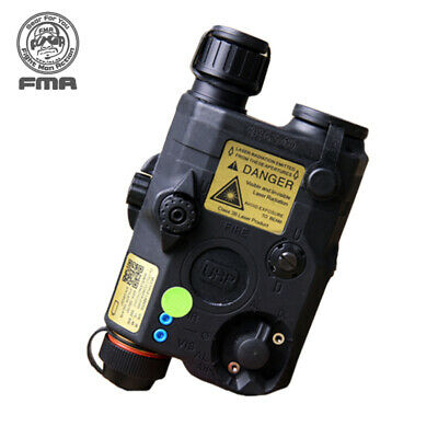 FMA PEQ LA5-C Upgrade Version Battery Box White LED+Green Laser W IR Lenses Army • 61.90£