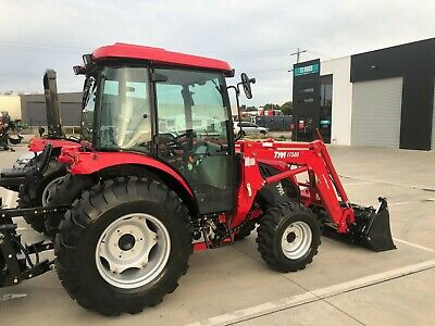 AU42650 • Buy TYM T503 Cabin Tractor With Front End Loader,  Manual Trans, Perkins Engine
