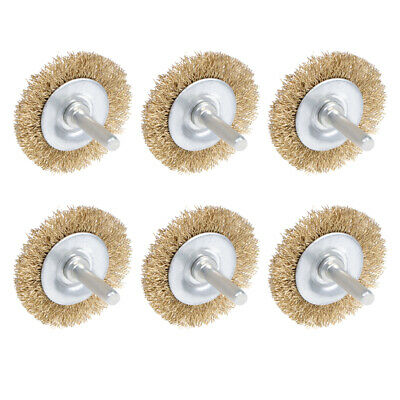 $ CDN13.99 • Buy Wire Wheel Brush With Shank Bench Copper Plated 2-Inch Wheel  6 Pcs