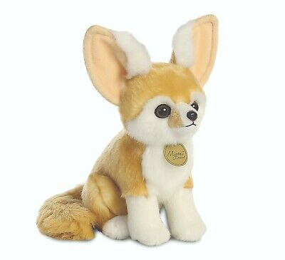 New Aurora Plush Miyoni Fennec Fox 26268 Cuddly 9  Soft Stuffed Toy • 12.99£