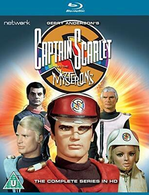 Captain Scarlet And The Mysterons: The Complete Series [Blu-ray] [DVD] • 26.20£