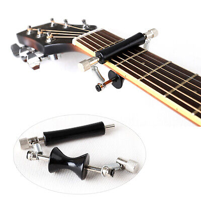 $ CDN13.08 • Buy Guitar Rolling Glider Capo For 6-String Classical Acoustic & Electric Guitar