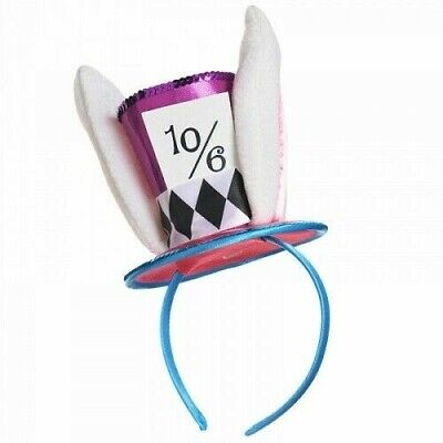 £8.99 • Buy Mad Hatter Headband Alice In Wonderland Party Accessory Womans Girl Mini Top Hat