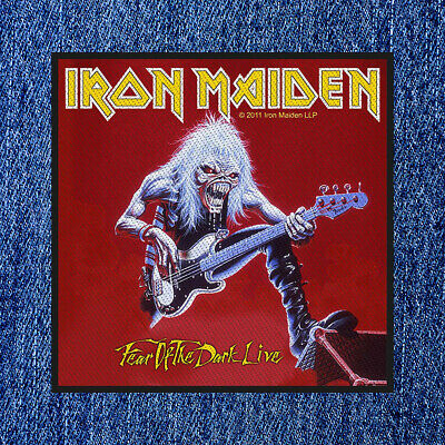 £4.25 • Buy Iron Maiden - Fear Of The Dark Live (new) Sew On Patch Official Band Merch