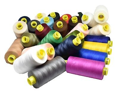 Gutermann 120 Polyester Sew All Thread 1000m Choice Of Colours • 6.99£
