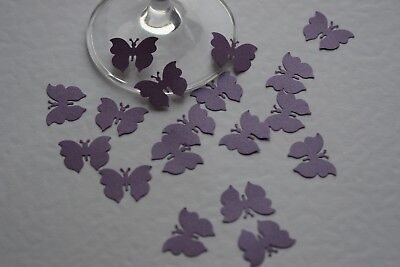 £2.95 • Buy 200 Cadbury Purple Shimmer Butterfly Confetti, Wedding Stationery Cards Toppers