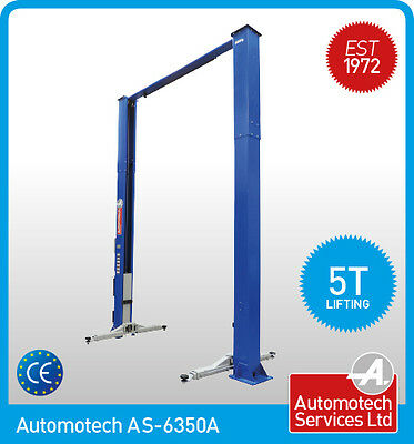 2 Post Lift / Car  Vehicle Ramp Hoist 5 Ton, Two Post Clear Floor, Baseless • 2,638.80£