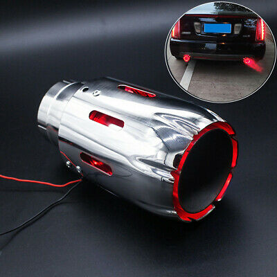 $ CDN70.46 • Buy Vehicle Straight Exhaust Tip Muffler Spitfire Red LED Light 35MM IN-89MM OUT