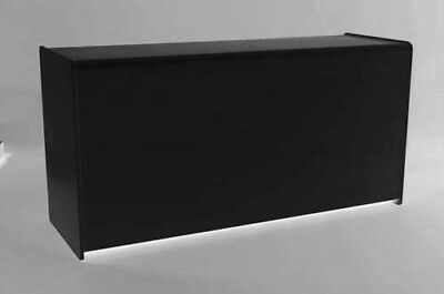 £258 • Buy BLACK 1800mm COUNTER  WITH SHELF RETAIL DISPLAY SHOP FITTINGS CASH TILL WRAP