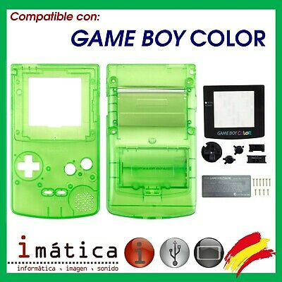 Phonecaseonline Carcasa Gameboy Color Pikachu Green New Faceplates, Decals & Stickers Able It Video Game Accessories