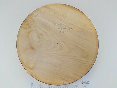 One Large English Sycamore Wood Turning Or Carving Bowl Blank.  50mm (2 ) Thick. • 45.95£