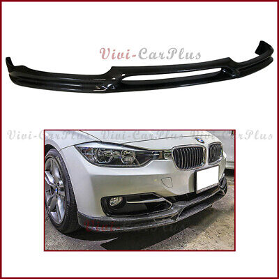 AU602.99 • Buy For 12-16 BMW F30 F31 328i 335i Standard Bumper 3D Type Carbon Fiber Front Lip