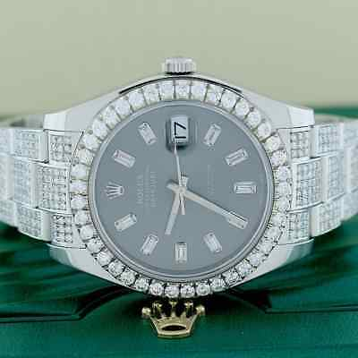 $ CDN18925.15 • Buy Rolex Datejust II 41mm 116300 W/9.4Ct Diamond Dial, Bezel & Bracelet Box Papers