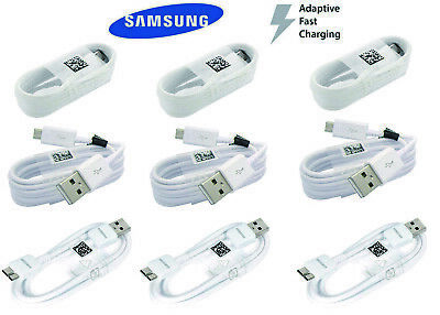 $ CDN11.98 • Buy OEM Original Samsung Galaxy S10 S9 S8 Plus S7 S6 S5 Fast Charger USB Cord Cable