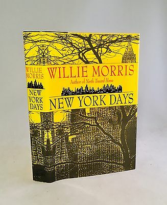 $29.99 • Buy New York Days-Willie Morris-SIGNED!!-INSCRIBED!!-TRUE First Edition/1st Printing