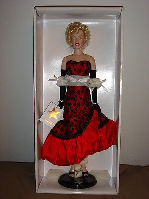 Franklin Mint Marilyn Monroe Vinyl Doll   Don't Bother To Knock  New With COA. • 197.45£