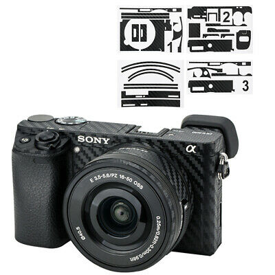 AU15.99 • Buy Anti-Scratch Camera Body Film Cover Protector For Sony A6400 A6300 +16-50mm Lens