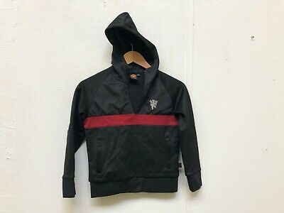 Manchester United FC Kid's Club 1/4 Zip Hoodie - 8-9 Years - New With Defects • 9.99£