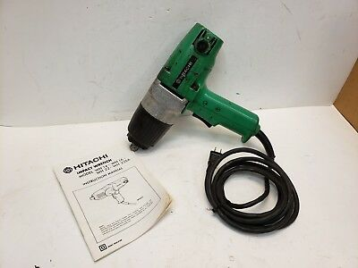 Hitachi WH16 1/2 Drive Electric Impact Gun 4.2 Amp Reversible  Free Shipping • 66.54£