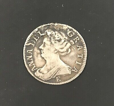 £250 • Buy 1707 E Early Queen Anne Milled Coin Silver.